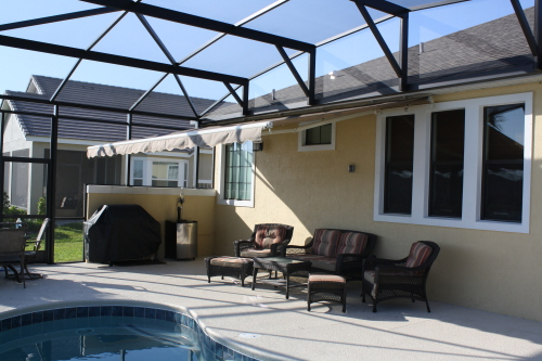 Retractable Awnings In Orlando Shade Amp Privacy Products