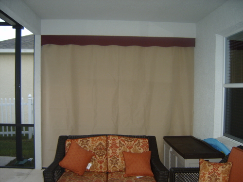Sunroom Shades Curtains Orlando Fl Daytona Beach Space