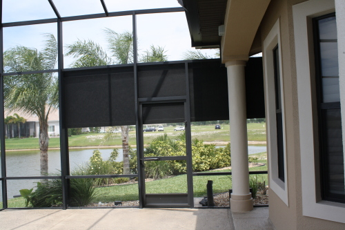 Retractable screens orlando fl retractable screen doors for Retractable privacy screen