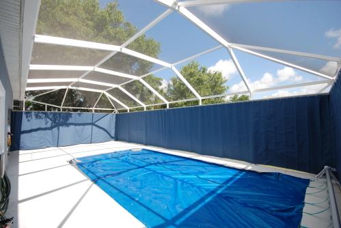Pool Privacy Curtains Interior Design